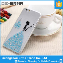 Bling Butterfly Flowers 3d Cell Phone Case for Mobile Phone Accessory for Iphone 6