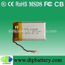 Maquetación 3.7v recargable ion-litio de 1000 mah con certificado ul
