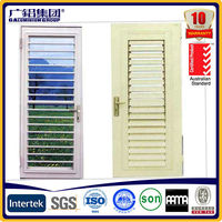 Aluminum Alloy Frame Material and Fixed Type aluminium glass louvers window