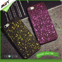 Starry sky plastic phone case for phone, diamond bling phone case for htc