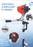 chinese 2015 hot sale new product outboard motor for boats 2 stroke 2 hp gas engine