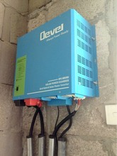 2000W self charging dc to ac inverter solar panel inverter power inverter with charger