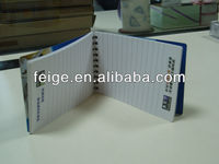 Custom Spiral Notebook Writing Paper