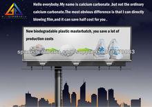 Materia prima de plástico biodegradable