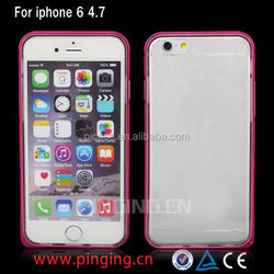 high quality China supplier hybrid bumper case for iphone 6 plus 6 5s 5c 4s
