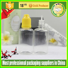 Factory products Childproof cap Acid Etch eye dropper bottle 20ml for e smoking Liquid