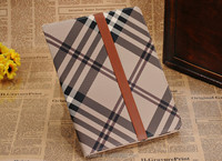 Tablet pc cases with shoulders strap check pattern case for IPad mini