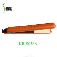 Ceramic coating plates hair straightener/ flat iron with injection color