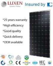 Solar PV Module Solar system Paneles Solares 300 Watt Solar Panel