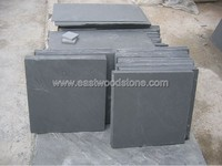black slate cut to size for outdoor stepping stones