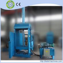 2015 new products hydraulic nature fiber baling press machine