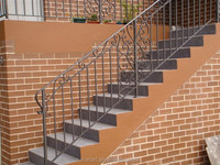 New design outdoor iron stair