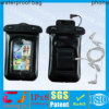 Hot sell 100% sealed waterproof bag for iphone 5s/5c with armband