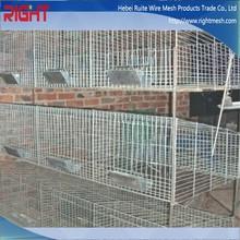 Alta calidad Animal vivo trampa jaula de conejo trampa