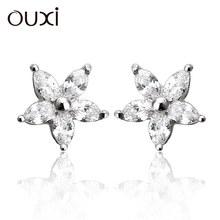 silver earrings 925, channel earing, earrings stud Y20108