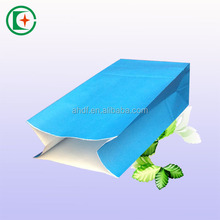Color printed free sample flat paper bag gift package bags