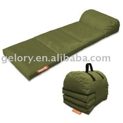 foldable bean bag chair/portatve cloth furniture for outside travel