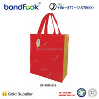 OEM recyclable custom nonwoven shopping bag