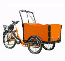2015 hot sale three wheel danish electric cheap motorized bicycle / bike / trike / tricycle