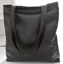 Korean simple leather handbags for women