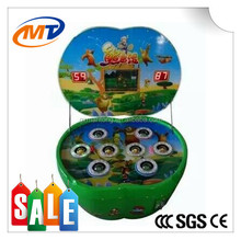 Hot sale Apple Type Hit a mole/frog kids arcade machines