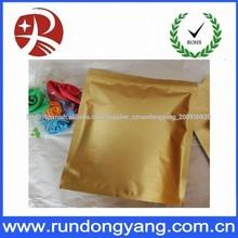 papel de aluminio de pie bolsa de envasado de alimentos
