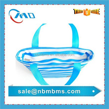 Portable Short Handle Small Polyester Insulated Lunch bag