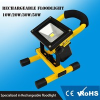 stand portable led work light with 4 Hours working time and 5mm thick aluminum material