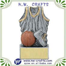 resina baloncesto esculturas