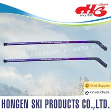 Hongen new design children ice hockey stick, roller hockey--laminated wood shaft, Plastic blade, composite,