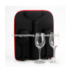 hot sales single bottle wine carrier box