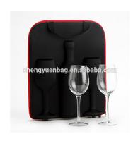 hot sales single bottle wine carrier box