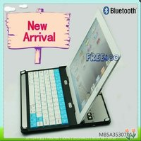 New Arrival Aluminium Wireless Bluetooth Keyboard for iPad3 iPad 2