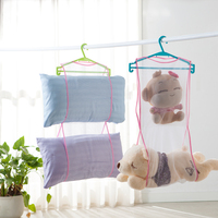 Wholesale Terylene White Pillow and Toy Dry and Storage Mesh Hang Net Bag