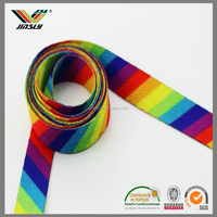 24mm Knitting braided colorful florist decorative dot grosgrain ribbon