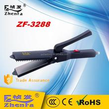 home appliance no heat hair straightener ZF-3288