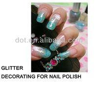 Wholesale bulk solvent resistance glitter powder for nail polish