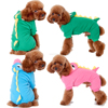 2015 Hot Dog Hoodie Winter Clothes Pet Dinosaur Turned Outfit Large Dogs Clothes 4 legs