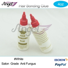 Charlies Angel Salon use 4OZ 10ml Cheap hair bonding glue for weaving weft hair extensions liquid super bond white color