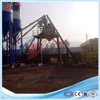 25m3/h HZS25 dry concrete mixing plant