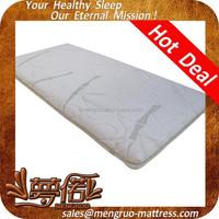 natural bamboo soft anti-mite visco foam baby bed mattress