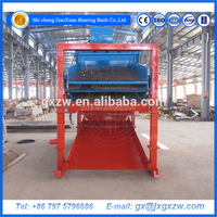 Sand vibrating screen machine, good quality grizzly screen for gravel