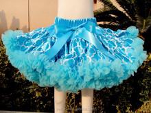 2015 wholesale Full and Fluffy Chiffon Pettiskirt for Fall Kids Thanksgiving Wear Cheap Pettiskirt