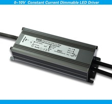 50w 1700ma dimming led transformer 0-10v dimmable constant current pwm led driver supply with aluminium cover