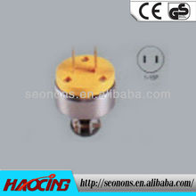 Recommended by end 2012 Good American 250V Plug