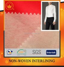 Double Dot Nylon NonWoven Paper Interlining