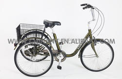 Model GW 7012 24 inch six speeds cargo tricycle for sale