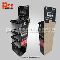 Pop Cardboard Display Stand , Portable Product Display , Stone Sample Display Box
