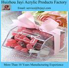 China fabricante atacado caixa de doces de acrílico