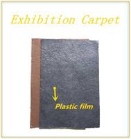 crazy sale Exhibition carpet with plastic film